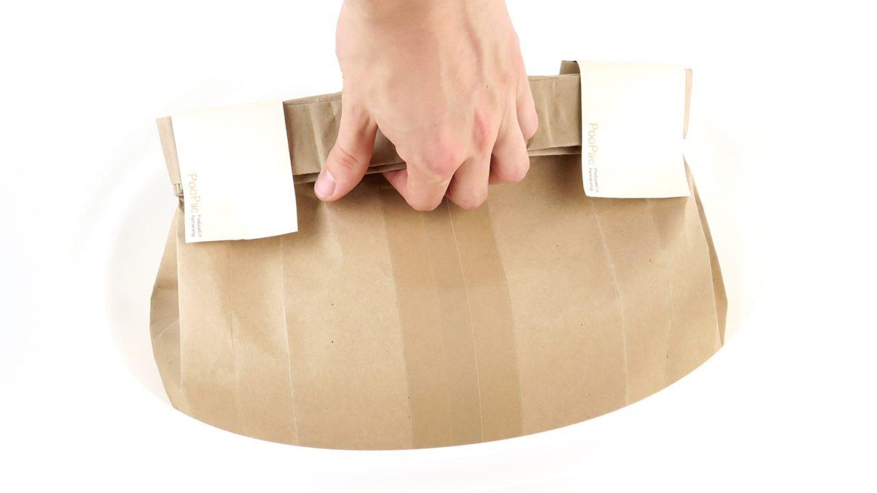 PooPac – A bioactive bag for human faeces