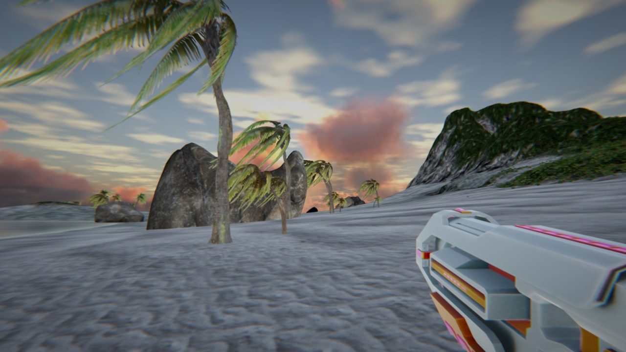 Hyperspeed Fragfest – A Procedural Racing First Person Shooter