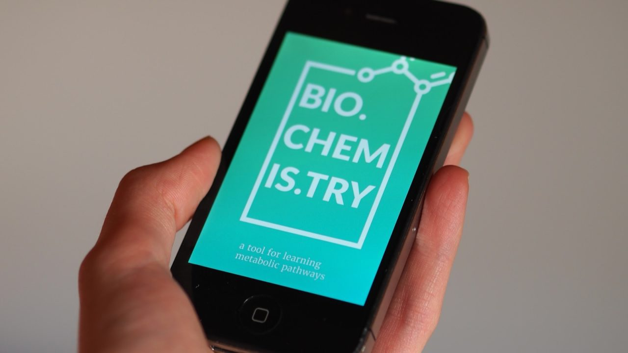 Biochemis.try – A learning tool for biochemical pathways